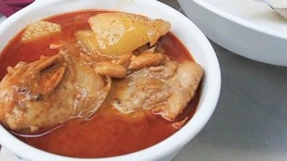 Massaman Curry มัสมั่นไก่
