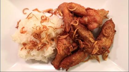 Hat Yai Fried Chicken ไก่ทอดหาดใหญ่ (gai tod hat yai)