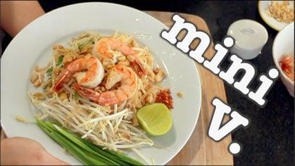 Pad Thai ผัดไทย (mini)