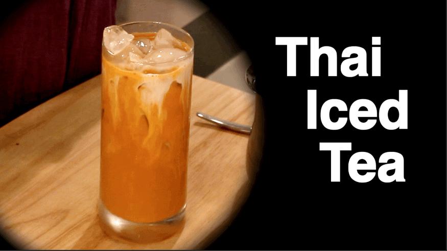 Thai Iced Tea Hot Thai Kitchen