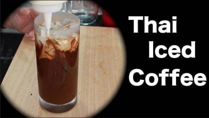 Thai Iced Coffee กาแฟเย็น (gafae yen)
