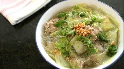 Pork Stock & Gaeng Jeud Woon Sen
