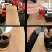 Thai coffee 4 ways