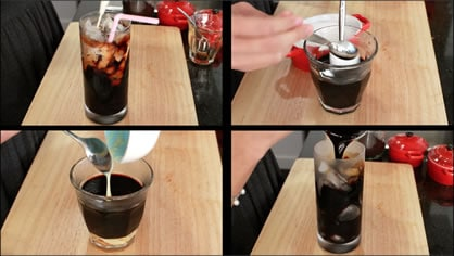 Thai coffee 4 ways