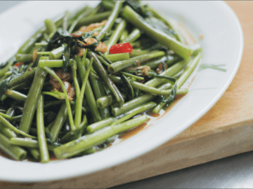 Water Spinach Stir-Fry - Pad Pak Boong