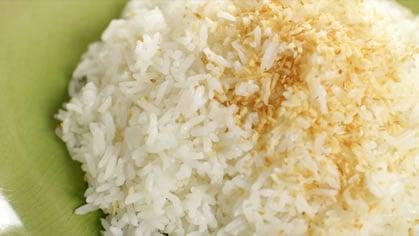 Coconut Rice ข้าวมัน (kao mun)