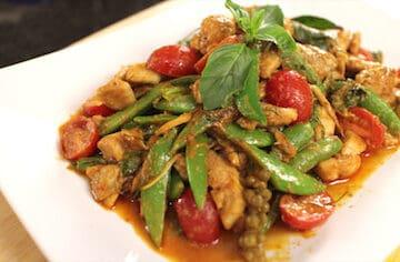 Red Curry Chicken Stir-Fry