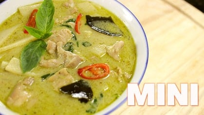 Green Curry Chicken (mini) gaeng keow waan