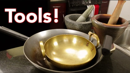 Tools for Thai Cooking