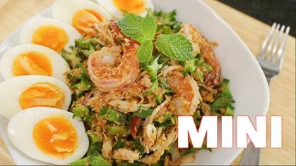 Wing Bean Salad (mini) Yum Tuapu