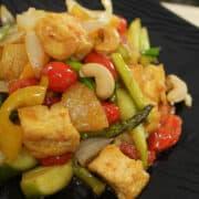 Sweet & sour tofu