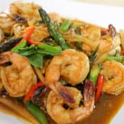 shrimp chili paste stir fry