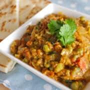 Indian Eggplant Curry (Baingan Bharta)