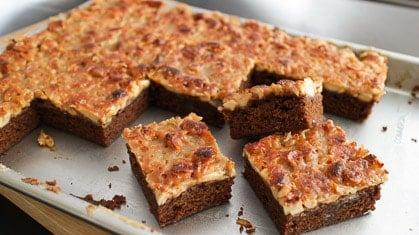 Cashew Toffee Mocha Cake