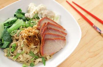 Thai street noodles