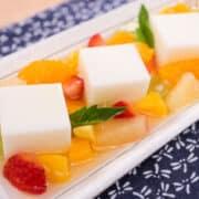 almond jelly fruit salad