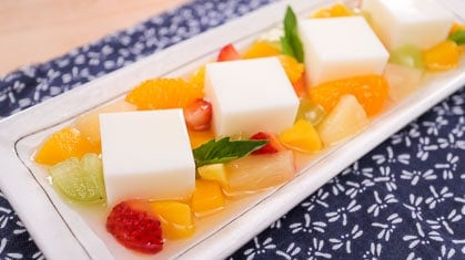 almond jelly fruit salad