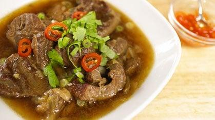 Thai Beef Stew เนื้อตุ๋น
