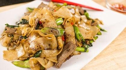 Shrimp Pad See Ew pad see ew thai wok-fried rice noodles recipe ...