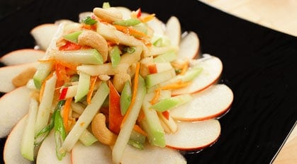 Chayote & Apple Salad ตำฟักแม้ว tum fakmeaw