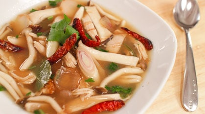 Tom Kloang – Smokey Leftover Turkey Soup