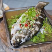 Fish with lime Mark Wiens