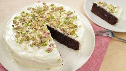 Chocolate Zucchini Cake (my fave chocolate cake!)