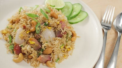 lychee Fried rice