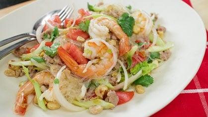 Glass Noodle Salad 2.0 (Yum Woon Sen) ยำวุ้นเส้น