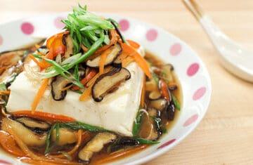 steamed tofu