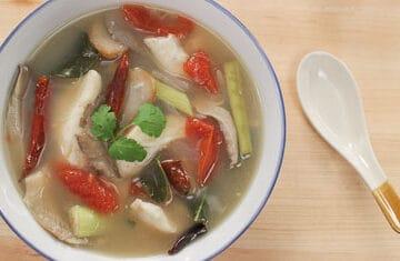 tom yum fish soup