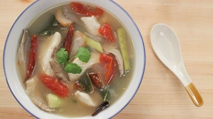 tom yum fish soup