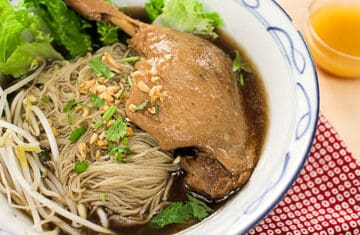 Thai Duck Noodle Soup