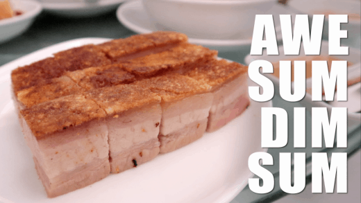 crispy pork belly at ah yat abalone