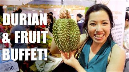 Durian Fest & Fruit Buffet in Bangkok!