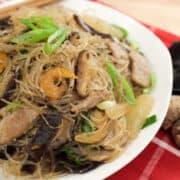 glass noodle stir fry hainanese