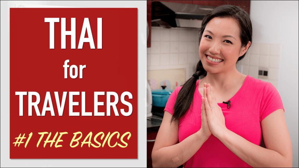 Thai language for travelers