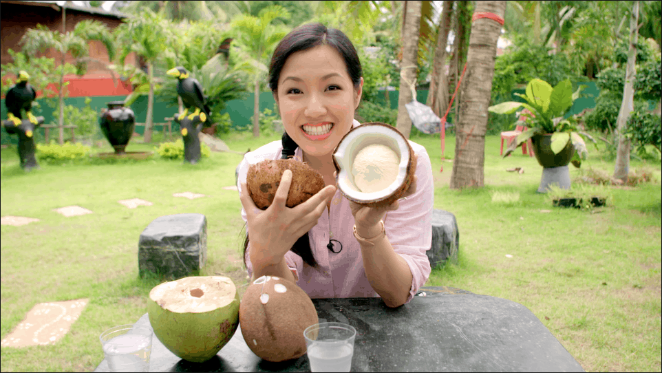 How coconut milk is made