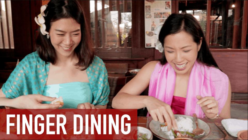 Finger dining royal thai cuisine