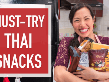 6 Must-Try Thai Snacks you can buy on Amazon! #thaifood #thaisnacks #amazon