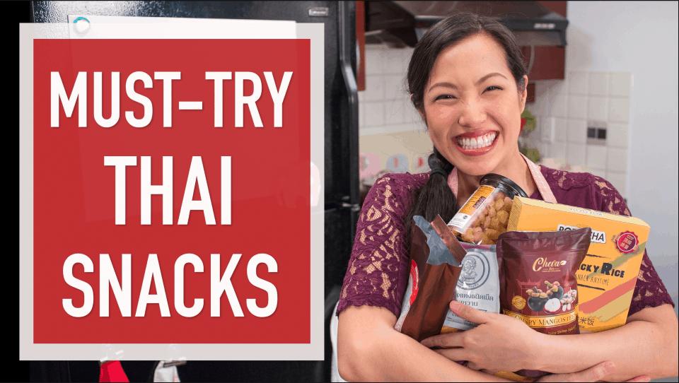 6 Must-Try Thai Snacks you can buy on Amazon! #thaifood #thaisnacks #amazon