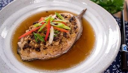 Steamed Black Cod Hot Thai Kitchen