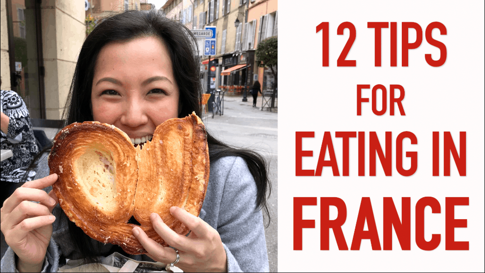 12 tips for eating in France