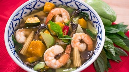 Kaeng liang - Breast milk boosting soup