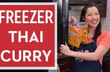 How to Make Space-Saving Freezer Thai Curry