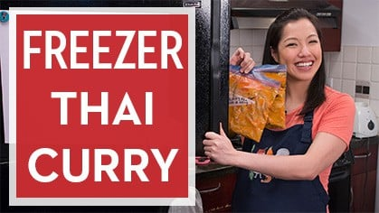 How to Make Space-Saving Freezer Thai Curry