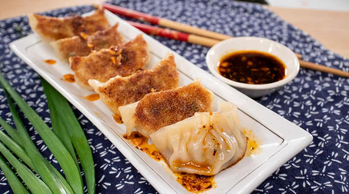 My Best Pork Dumplings Gyoza Recipe Hot Thai Kitchen